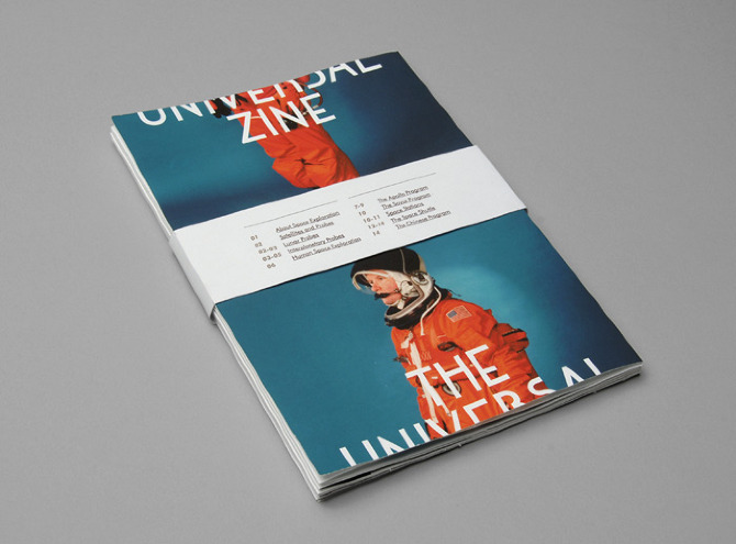 uni1 The Universal Zine by Kasper Pyndt in THISISPAPER MAGAZINE