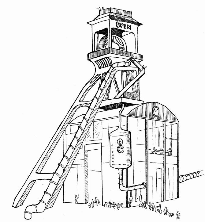 Coal Mining Drawings a History of Coal-mining
